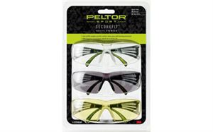 Picture of PELTOR SECUREFIT 400 EYE PROT 3-PACK